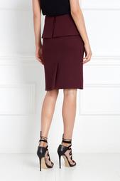 Шерстяная юбка Chapurin