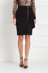 Однотонная юбка Boutique Moschino