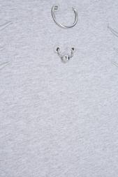 Хлопковая футболка Mugler
