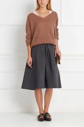 Пуловер из мохера Nina Ricci