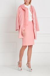 Однотонное пальто Boutique Moschino