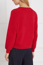 Хлопковый свитшот Boutique Moschino
