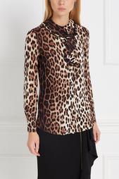 Блузка с принтом Boutique Moschino