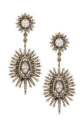 Серьги с жемчугом и кристаллами Lisa Smith
