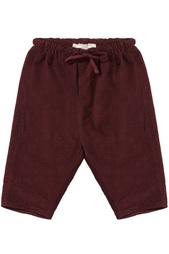 Хлопковые брюки Carnelian Baby Caramel