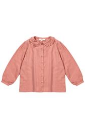 Хлопковая блузка Pyrolite Caramel