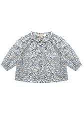 Хлопковая блузка Moss Baby Caramel