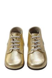 Ботинки из металлизированной кожи Bonpoint
