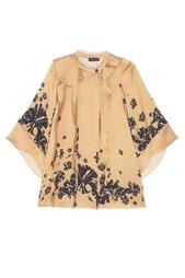 Шелковая блузка Chapurin