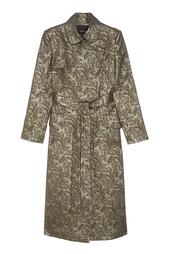 Пальто из жаккарда Chapurin