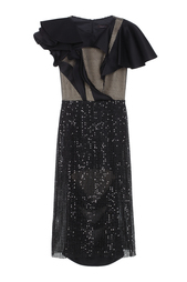 Платье с пайетками Chapurin