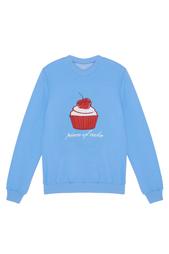 Хлопковый свитшот Pieceofcake Candyshop Children