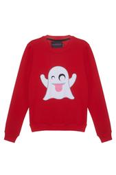 Хлопковый свитшот Casper Candyshop