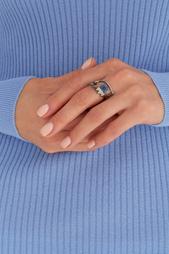 Кольцо с кристаллами Lisa Smith