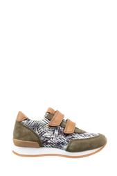 Замшевые кроссовки Ten J Velcro 10 Is