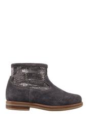 Замшевые ботинки с пайетками Hobo Cover Pom Dapi