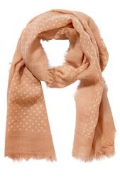 Шерстяной шарф Spotty Caramel