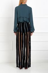 Блузка из хлопка и шелка Eloshi Sinaze