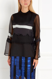 Шелковая блузка Atelier Kikala Sinaze