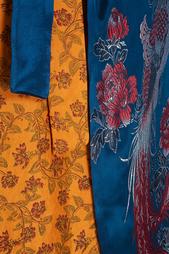Шелковый халат Lasha Devdariani Sinaze