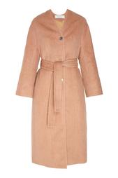 Пальто из шерсти альпака и шелка Nina Ricci