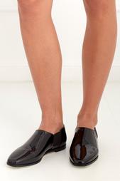 Ботинки из лакированной кожи Glint Jimmy Choo