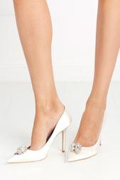 Туфли с кристаллами Abel Jimmy Choo