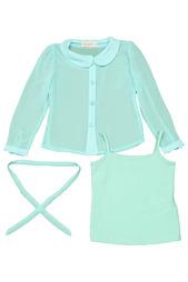 Комплект: блуза, майка De Salitto