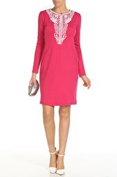 Платье с кружевом Alina Assi