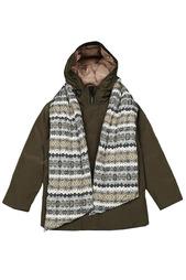 Куртка с шарфом Fifty Four