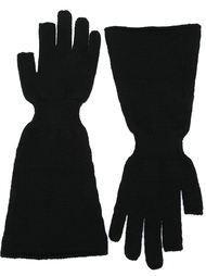 перчатки с широкими манжетами Rick Owens
