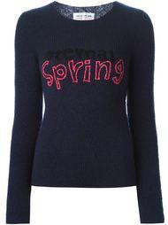 свитер с вышивкой Comme Des Garçons Girl
