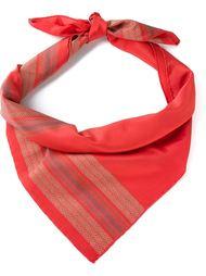 шарф с принтом  Fendi Vintage