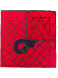 нагрудный платок с принтом ремня Roberta  Di Camerino Vintage