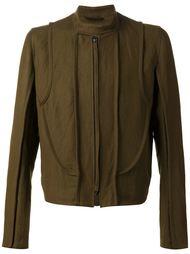 пиджак на молнии с воротником-стойкой  Ann Demeulemeester