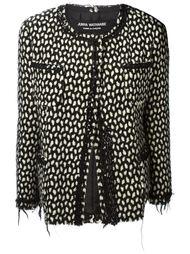 куртка с необработанными краями Junya Watanabe Comme Des Garçons Vintage