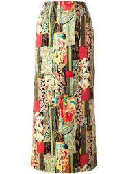 юбка с принтом 'Jungle'  Kenzo Vintage