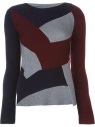 асимметричный лоскутный свитер  Maison Margiela
