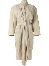 платье в складку с объёмными карманами Thierry Mugler Vintage