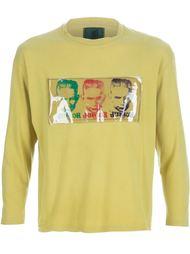 свитер с пластиковой аппликацией Jean Paul Gaultier Vintage