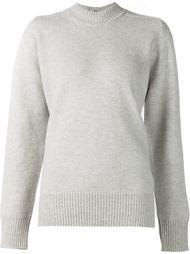 свитер с асимметричной застежкой на пуговицы Victoria Beckham