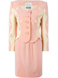 юбочный костюм  Moschino Vintage