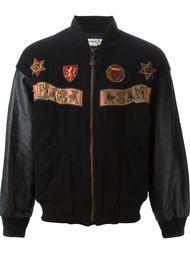 куртка-бомбер с вышивкой  Kansai Yamamoto Vintage
