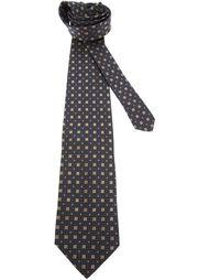 галстук в рисунок Gianfranco Ferre Vintage