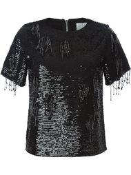 блузка с пайетками Ashish