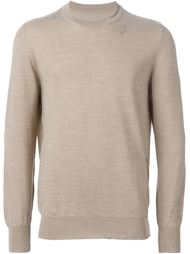 свитер с круглым вырезом Maison Margiela