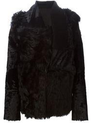 куртка из овчины Ann Demeulemeester Blanche