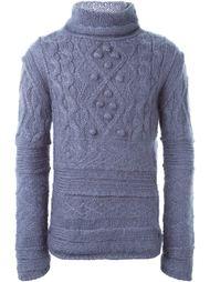 свитер аранской вязки Jean Paul Gaultier Vintage