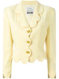 пиджак с фестонами Moschino Vintage
