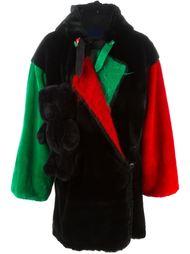 ворсистое пальто свободного кроя Jc De Castelbajac Vintage